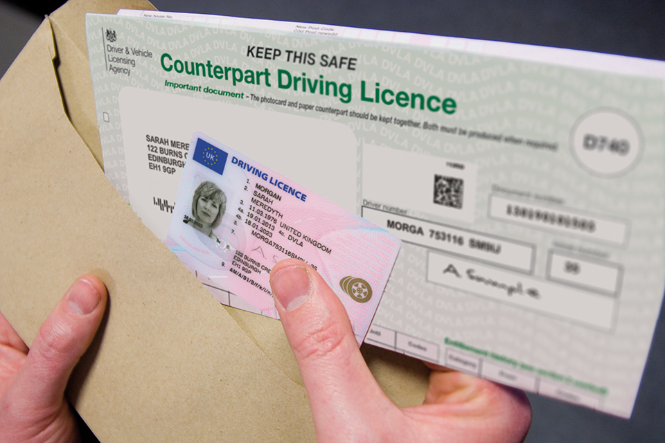 Order your uk driving license without a road test and theory test.