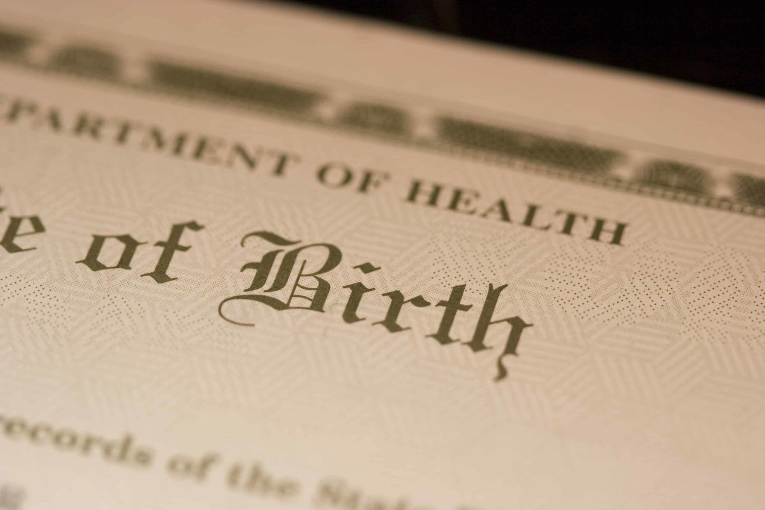 buy birth certificate online